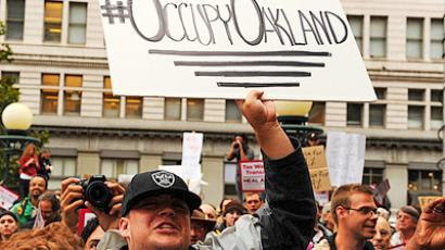 Military joins Occupy Wall Street
