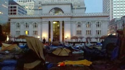 Occupy DC strikes at heart of lobbyists' hub