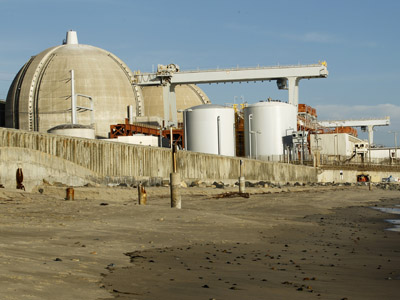 The San Onofre Nuclear Generating plant (Reuters/Mike Blake)