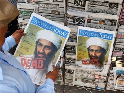 Bin Laden did not use human shield