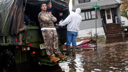 Sandy volunteers facing same risks as 9/11 first responders