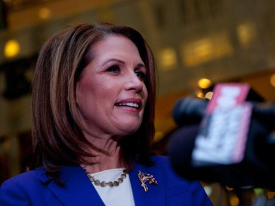 Minnesota Rep. Michele Bachmann (AFP Photo / Mandel NGAN)