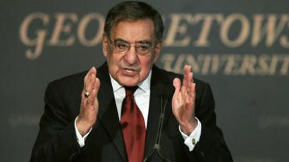 U.S. Secretary of Defense Leon Panetta.(AFP Photo / Alex Wong)