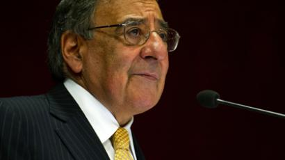 Leon Panetta (AFP Photo / Pool / Jim Watson)
