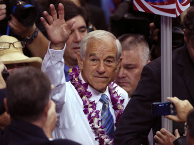Former Republican presidential candidate, Representative Ron Paul.(Reuters / Jason Reed)
