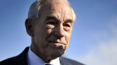 Republican presidential hopeful Ron Paul (AFP Photo / Jewel Samad)