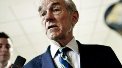 Former Republican presidential candidate, Representative Ron Paul (T.J. Kirkpatrick/Getty Images/AFP)