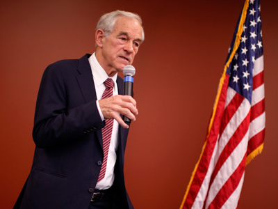 U.S. Republican presidential candidate and Congressman Ron Paul (Jim Young / Reuters)