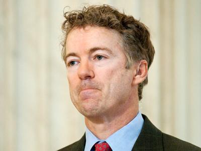 U.S. Senator Rand Paul (Reuters/Jonathan Ernst)