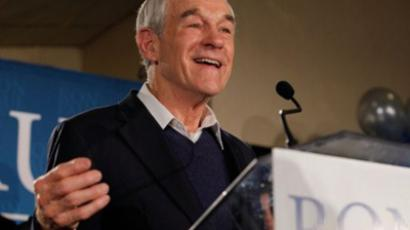 Republican presidential candidate, U.S. Rep. Ron Paul (AFP Photo / Andrew Burton)