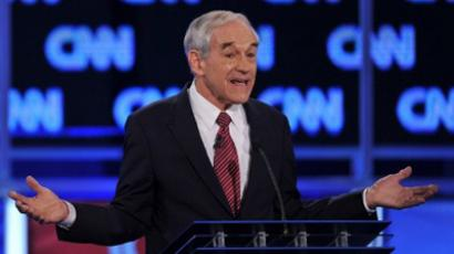 GOP presidential candidate Texas Rep. Ron Paul (AFP Photo / Paul J. RICHARDS)