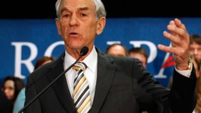 Republican presidential candidate U.S. Representative Ron Paul (Reuters / Brian Snyder)