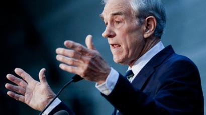 Ron Paul (AFP Photo / Getty Images)