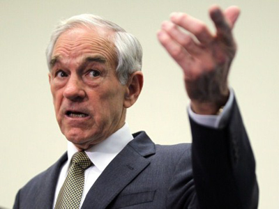 Republican presidential candidate U.S. Rep. Ron Paul