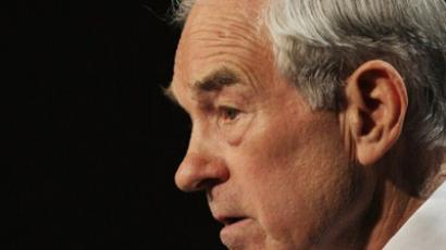 Latest poll puts Ron Paul in first-place tie