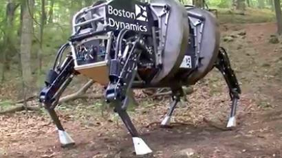 Catbot: Swiss 'cheetah-cub' robot gets feline biomechanics
