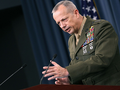 Commander, International Security and Assistance Force (ISAF) U.S. Marine Corp. Gen. John Allen (AFP Photo / Mark Wilson)