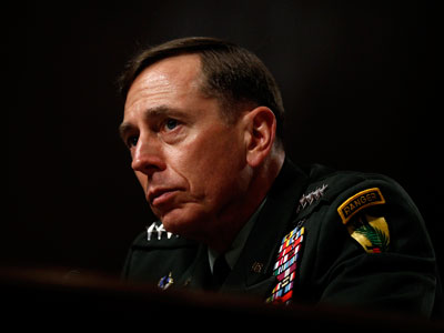 .S. General David Petraeus testifies at his Senate Armed Services Committee confirmation hearing to become commander of U.S. forces in Afghanistan on Capitol Hill in Washington June 29, 2010.(Reuters / Kevin Lamarque)