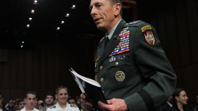 Gen. David Petraeus (AFP Photo / Alex Wong)