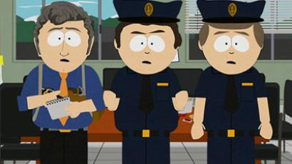 Screenshot from South Park TV series
