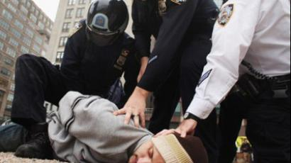 Crushing Occupy: Riot police and undercover agents