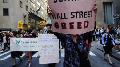 Lay-offs come to Wall Street