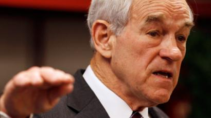 Ron Paul (Reuters / Jeff Haynes)