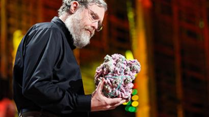 Harvard Medical School Professor George Church. (Image from en.wikipedia.org / photo by Steve Jurvetson)