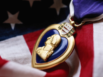 Desperate vet pawns his Purple Heart