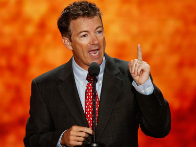 U.S. Senator Rand Paul (R-KY) (Reuters/Mike Segar)