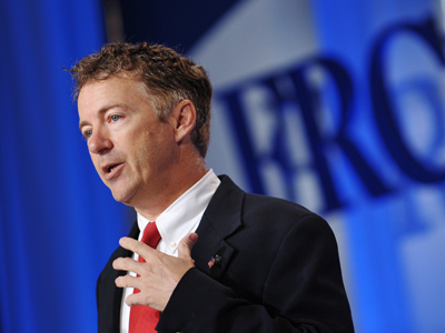 Rand Paul stands alone against Senate's 'preemptive war' resolution for Iran