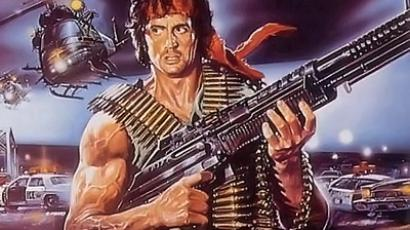 Montana authorities are on the hunt for an armed man acting much like fictional movie character Rambo.