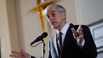 Republican presidential candidate U.S. Rep. Ron Paul (AFP Photo / Joe Raedle)