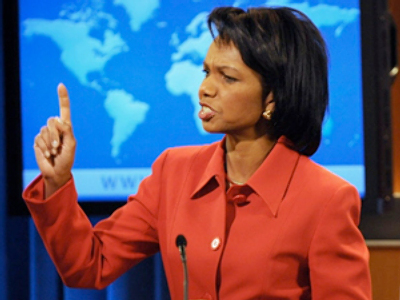 Condoleezza Rice (AFP Photo / Mark Ralston)