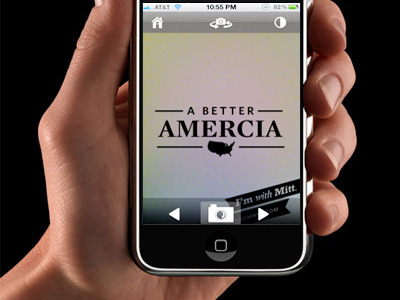App-alling blunder: Romney running for president of Amercia?
