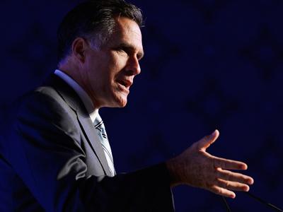 Mitt Romney (Kevork Djansezian / Getty Images / AFP)