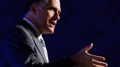 Mitt Romney (Kevork Djansezian / Getty Images / AFP)