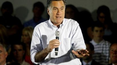 Republican presidential candidate and former Massachusetts Gov. Mitt Romney (AFP Photo / Jessica Kourkounis)