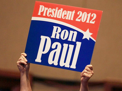 Ron Paul jumps into 2012 race (AFP Photo / Mark Wilson)