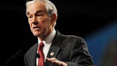 Rep. Ron Paul (AFP Photo / Laura Segall)
