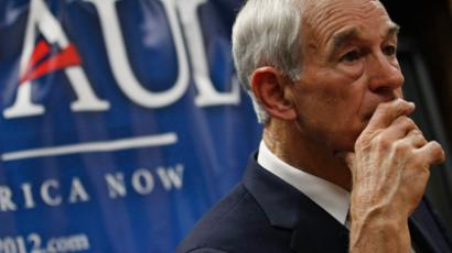 Ron Paul tied with Gingrich in Iowa