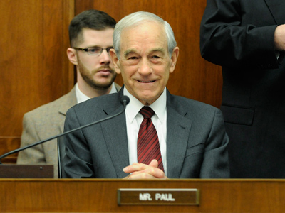 U.S. Representative Ron Paul (Reuters/Jonathan Ernst)
