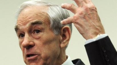 Ron Paul (AFP Photo / Karen Bleier)