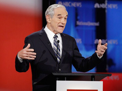Republican presidential candidate, U.S. Rep. Ron Paul (AFP Photo / Chip Somodevilla)