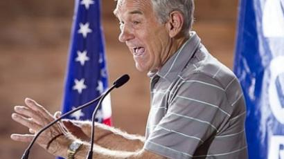 Republican presidential contender, Rep. Ron Paul (AFP Photo / Getty Images)