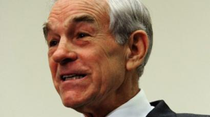 US Republican presidential hopeful Rep. Ron Paul of Texas, speaks November 16, 2011 during a healthcare event on Capitol Hill in Washington, DC. (AFP Photo / Karen Bleier)