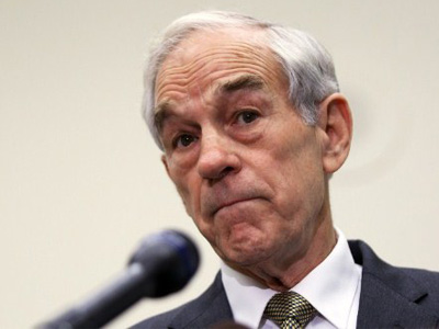 "Washington, DC: Republican presidential candidate U.S. Rep. Ron Paul (R-TX) addresses the Congressional Health Care Caucus ""Thought Leaders Series"" November 16, 2011. (Alex Wong/Getty Images/AFP)"