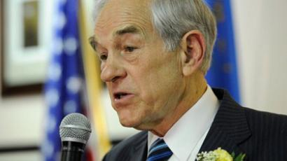 Ron Paul (AFP Photo / Ethan Miller)