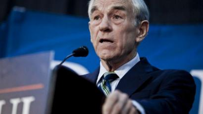 Republican Presidential hopeful U.S. Rep. Ron Paul (AFP Photo / T.J. Kirkpatrick)