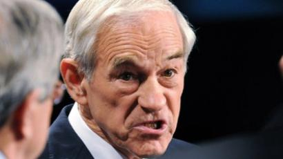 Republican presidential candidate U.S. Rep. Ron Paul (Steve Pope / Getty Images / AFP)